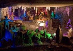 Kunegunda's Shaft in Wieliczka Salt Mine
