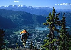 Get travel insurance before mountain biking in Canada