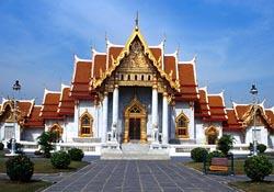 Wat Ben temple in Thailand