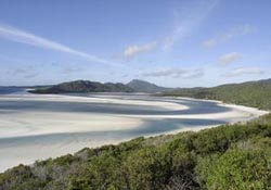 Whitsunday National Park in Australia