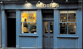 Mildreds vegetarian restaurant in Soho, London