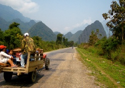 Eco travel in Laos