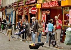 Musicians in Paris