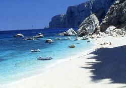 Beach on Sardinia, Italy