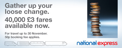 National Express Autumn 2008 Sale