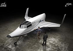 Lynx space craft from XCOR Aerospace