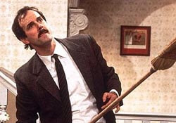 Basil Fawlty of Fawlty Towers