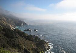 The Big Sur coastline, California