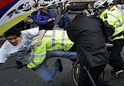 Metropolitan Police during a demonstration