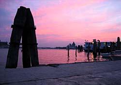 Venice at dusk and at peace