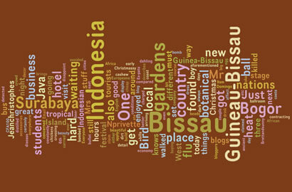 The Travel Blog by Travelpod Wordle