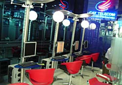 An internet cafe in Korea
