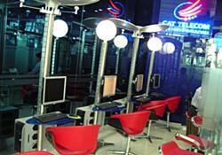 An internet cafe in Korea