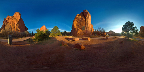 Garden of the Gods - photo by nebarnix