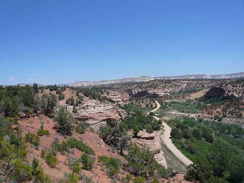 Kanab landscape in Utah - photo by JBSibley