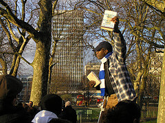 Speakers Corner in Hyde Park, London - photo by Benderish