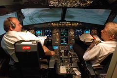 Cockpit interior - Photo by Caribb