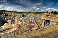 Falun copper mine entrance - photo by Stawarz