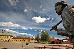 Falun copper mine area - photo by Stawarz