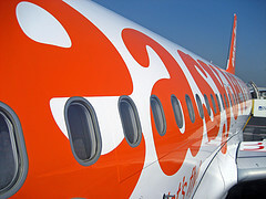 easyJet airplane - photo by WexDub