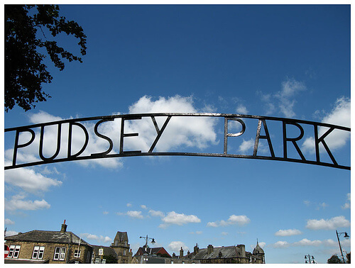 Pudsey Park in Leeds - photo by Richard Cawood