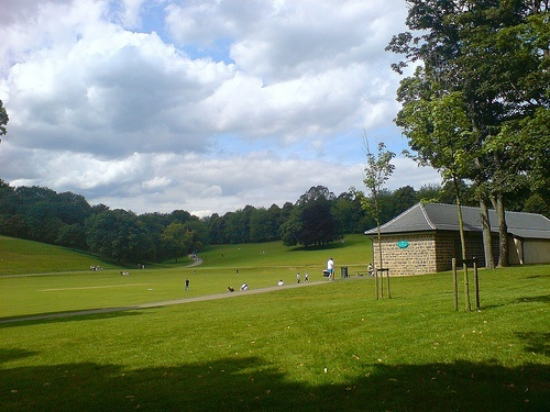 Roundhay Park in Leeds - photo by leeds Sackboy