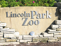 Entrance to Lincoln Park Zoo in Chicago