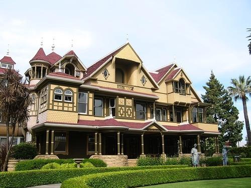 The Winchester Mystery House, San Jose, California