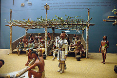 Diorama in the National Museum of the American Indian