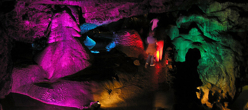 Wookey Hole Caves in Somerset