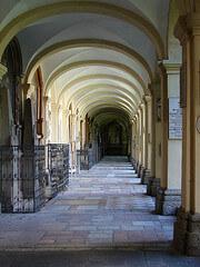 Cemetery of St Sebastian in Salzburg, Austria