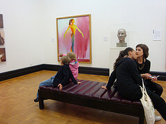 Inside the National Portrait Gallery in London