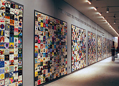 The Children's Tile Wall in the Holocaust Museum, Washington D.C.