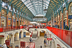 The Covent Garden in London