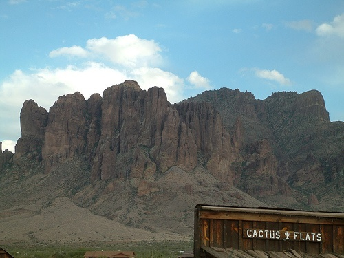 View from the Superstition Mountain Museum, Arizona