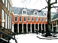 The Amsterdam Historical Museum courtyard