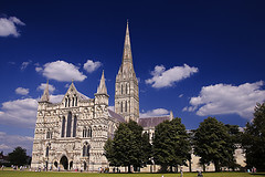 The Cathedral in Salisbury, England