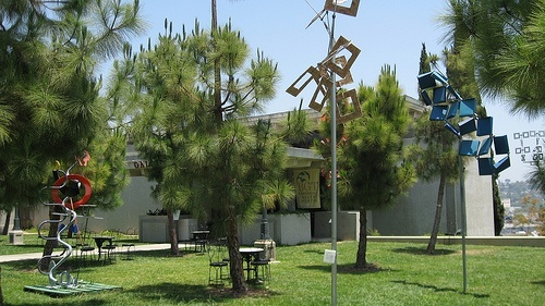 Barnsdall Art Park at the Los Angeles Municipal Art Center