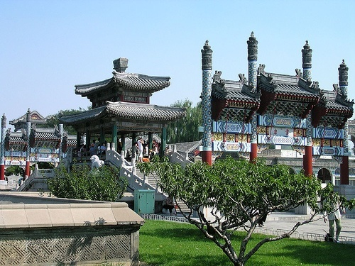 The grounds of the Summer Palace in Beijing