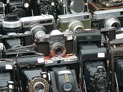Old cameras on Portobello Road