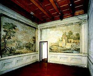 Landscape room at Casa Buonarottie, Florence