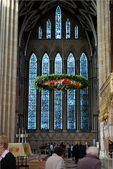 York Minster Cathedral interior