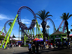 Rides at Knott's Berry Farm
