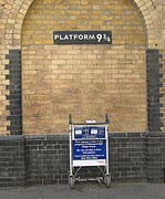 Platform 9 1/2 at King's Cross