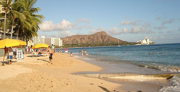 Diamond Head Beach Oahu Hawaii