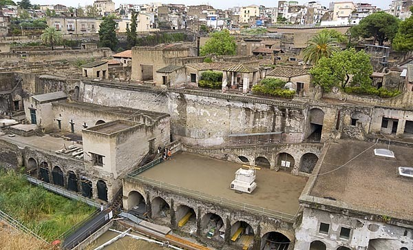 Herculaneum near Naples