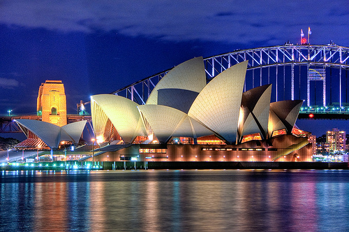 Sydney Opera House Close up HDR Sydney Australia by Linh_rOm.