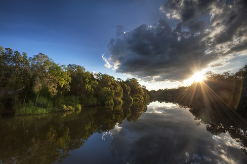 Sunset at Australia's Kakadu National Park