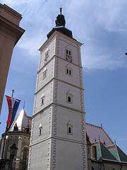 The Lotrscak Tower in Zagreb