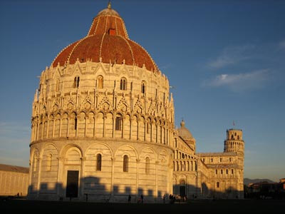 The Baptistry of St. John (Italian: Battistero di San Giovanni) is a religious building in Pisa, Italy.